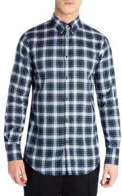 DSQUARED2 Regular-Fit Checkered Dress Shirt