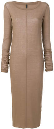 Barbara I Gongini fitted sweater dress