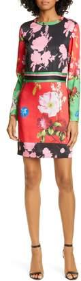 Ted Baker Yanna Floral Long Sleeve Dress