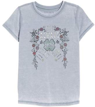 Lucky Brand Lucky Club Graphic Tee