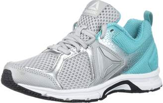 Reebok Women's Runner 2.0 MT Running Shoes, Skull Grey/Sild Teal/White/Black/Silver Metallic