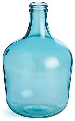 "Napa Home 16"" Parisian Decorative Bottle - Aqua"