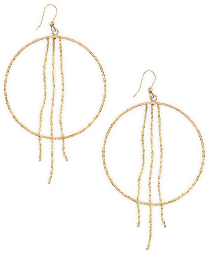Lana Yellow Gold Lust Hoop Earrings