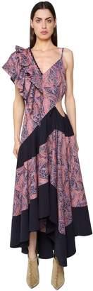Loewe Asymmetrical Printed Light Cotton Dress