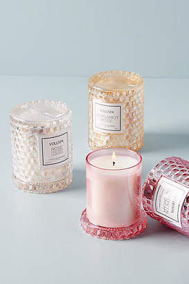 Voluspa Rose Cloche Candle