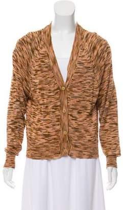 Dries Van Noten Patterned V-Neck Sweater