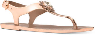 Michael Kors MICHAEL Women's Miley Jelly Flat Sandals