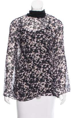 Rachel Zoe Printed Silk Top w/ Tags
