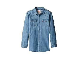 Levi's Kids Boys' Western Woven Shirt (Big Kids)