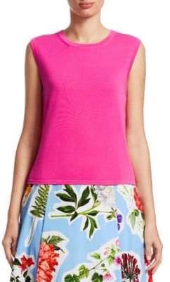Carolina Herrera Sleeveless Sweater