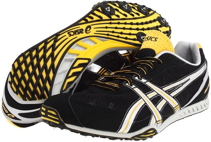Asics Gel Dirt Dog 3 (Black/Silver/Yellow Jacket) - Footwear