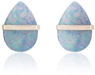 Melissa Joy Manning labradorite stud earrings