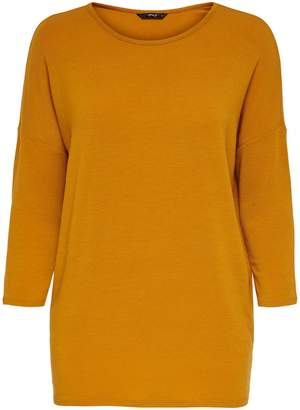 Only Three-Quarter Sleeve Pullover Top