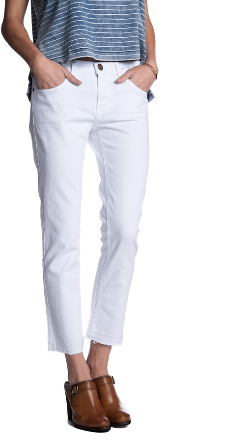 CURRENT/ELLIOTT Straight Leg Jean
