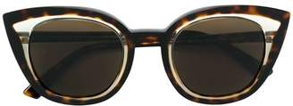 Cat Eye Face À Face tortoiseshell cat-eye sunglasses