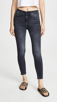 7 For All Mankind High Waisted Ankle Skinny Jeans