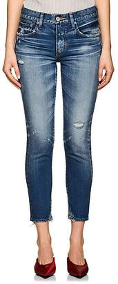 Moussy Women's Velma Distressed Skinny Jeans