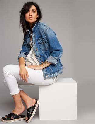 Joe's Jeans Pea Collection Cotton Woven Maternity Jacket