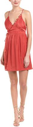 The Jetset Diaries Leone Mini Wrap Dress