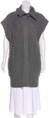 Temperley London Wool Sleeveless Cardigan