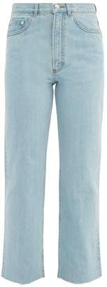 A.P.C. Alan Slim Boyfriend Jeans - Womens - Light Denim