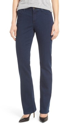 Women's Nydj Marilyn Stretch Straight Leg Jeans $99 thestylecure.com