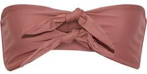 Mikoh Knotted Bandeau Bikini Top