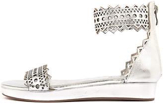 Top end Frizon Silver Sandals Womens Shoes Casual Sandals-flat Sandals