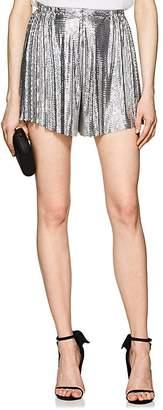 Paco Rabanne Women's Metal Mesh High-Rise Shorts