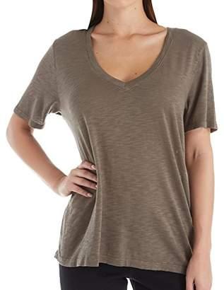 Splendid Women's Short Sleeve V-Neck