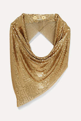 Paco Rabanne Chainmail Scarf - Gold