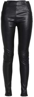 Maison Margiela Stretch-Leather Skinny Pants