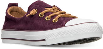 Converse Chuck Taylor Shoreline Perf Suede Casual Sneakers from Finish Line