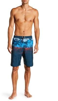 Burnside Print Swim Shorts