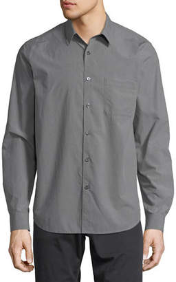 Theory Rammy Willowmere Cotton Oxford Shirt