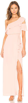 BCBGMAXAZRIA Maud One Shoulder Gown