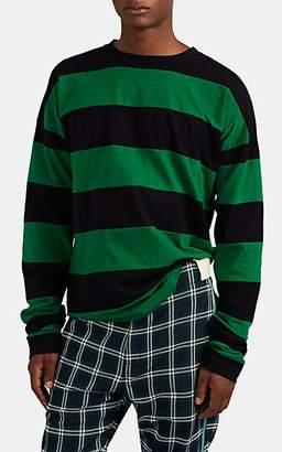 Marni Men's Striped Oversized Jersey T-Shirt - Black