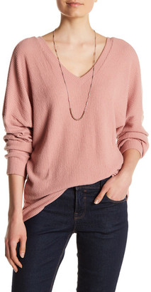 Painted Threads V-Neck Knit Sweater $39 thestylecure.com