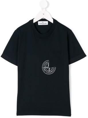Stone Island Junior chest pocket T-shirt