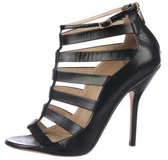 Jimmy Choo Caged Open Toe Sandals
