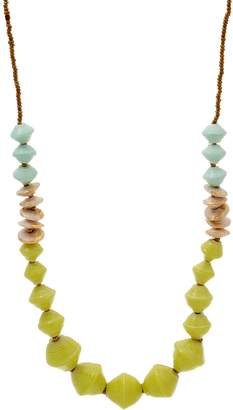 3.1 Phillip Lim Bits Multi-Color Beaded Cobblestone Necklace