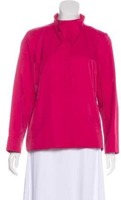 Eileen Fisher Lightweight Zip-Up Jacket