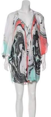 Diane von Furstenberg Fleurette Silk Dress