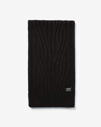 Express Engineered Knit Scarf