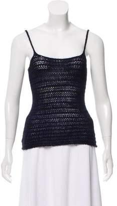 Giorgio Armani Sleeveless Knit Top