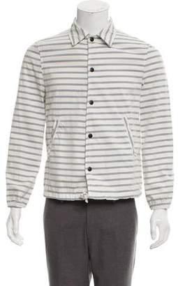 Save Khaki Marine Stripe Twill Jacket w/ Tags