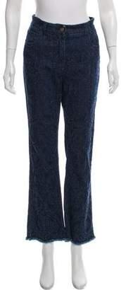 Etro High-Rise Wide-Leg Jeans