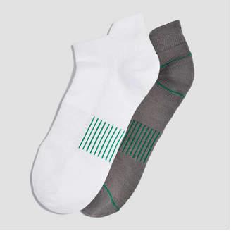 Joe Fresh Women's 2 Pack Back Tab Sport Socks