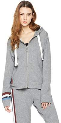 Rebel Canyon Women's Young FR Terry Long Sleeve Full Zip Front Hoody with Printed Stripe Details