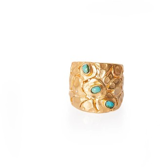 Santorini Christina Greene Ring in Turquoise